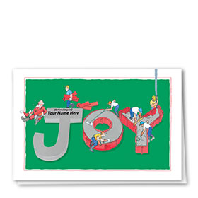 Construction Christmas Cards - Forms of Joy