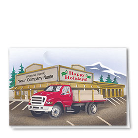 Construction Christmas Cards - Lumber to Go