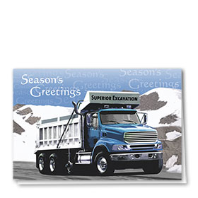 Trucking Christmas Cards - Season's Greetings