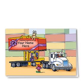 Trucking Christmas Cards - Lifting Spirits High
