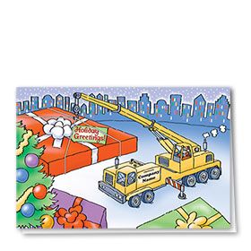 Construction Christmas Cards - Gifts Galore