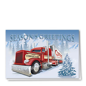 Trucking Christmas Cards - Christmas Express