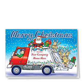 Construction Christmas Cards - Christmas Party