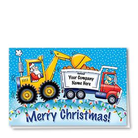 Construction Christmas Cards - Christmas Lights