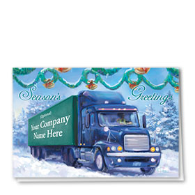Trucking Christmas Cards - Nostalgic Trucking