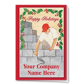 Holiday Card-Holiday Masonry