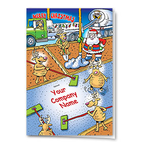 Holiday Card-Concrete Impression