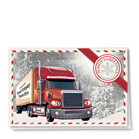 Holiday Card-Wintertime Greetings