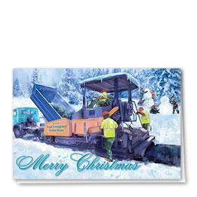Holiday Card-Charming Paver