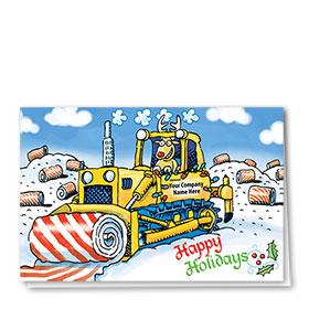 Holiday Card-Candy Dozer