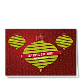 Traditional Christmas Cards - Cheery Greeting
