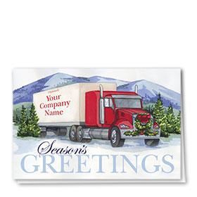 Holiday Card-Fir Trees
