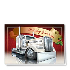 Holiday Card-Grey Greetings