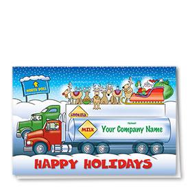 Holiday Card-Santa's Snack