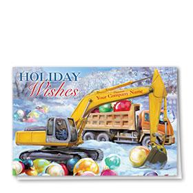 Holiday Card-Cheerful Bulbs