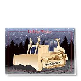Holiday Card-Midnight Roadway