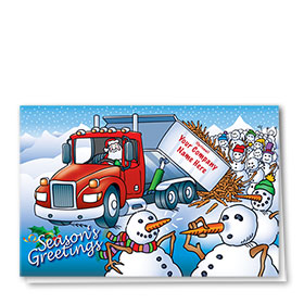 Trucking Christmas Cards - Treats for All