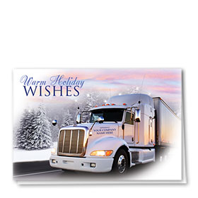Holiday Card-Sunset Wishes