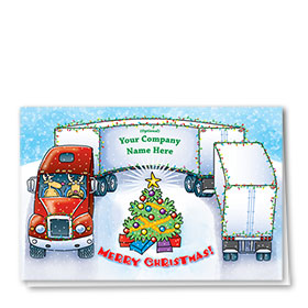 Holiday Card-Hairpin Tree