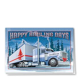 Holiday Card-Hauliday Bows