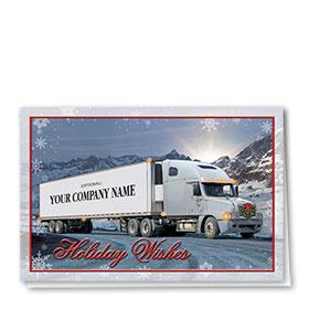 Holiday Card-Snowflake Mountain
