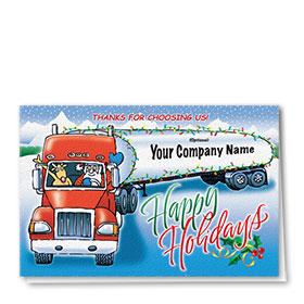 Holiday Card-Tanker Lights