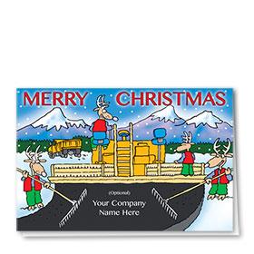 Holiday Card-New Road