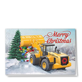 Holiday Card-Load of Gifts