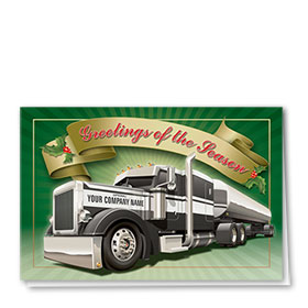 Trucking Christmas Cards - Classy Tanker