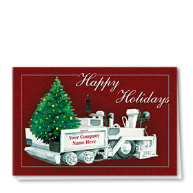 Holiday Card-Twinkling Tree Paver