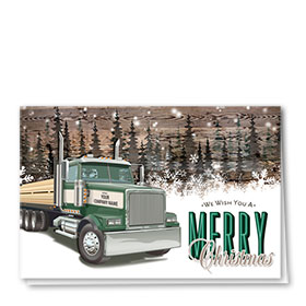 Construction Christmas Cards - Forest Lumber
