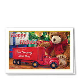 Trucking Christmas Cards - Timeless Toy