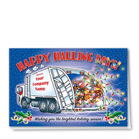 Construction Christmas Cards - Bright Refuse