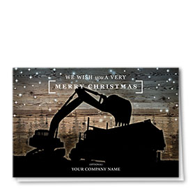 Holiday Card - Midnight Silhouhette