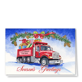 Construction Christmas Cards - Fun Filled Holiday