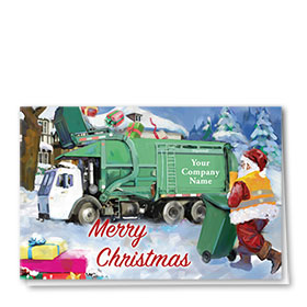 Trucking Christmas Cards - Gift Refuse