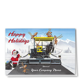 Construction Christmas Cards - New Crew