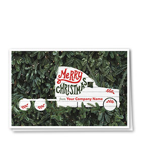 Trucking Christmas Cards - Plenty Pines