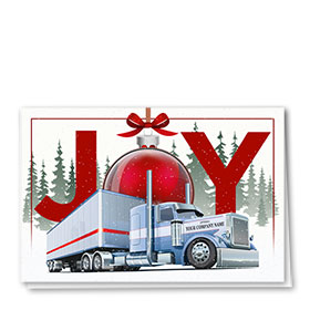 Trucking Christmas Cards - Truck Joy