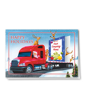 Trucking Christmas Cards - Giant Greeting