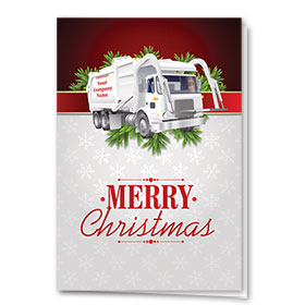 Trucking Christmas Cards - Refuse Banner