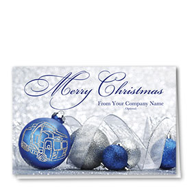 Trucking Christmas Cards - Gleaming Bulb