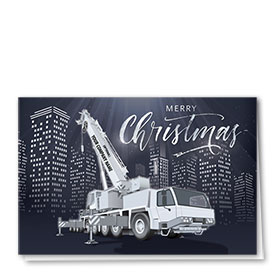 Construction Christmas Cards - Silver City