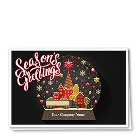 Trucking Christmas Cards - Charming Truck