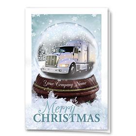 Trucking Christmas Cards  - Winter Magic