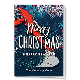 Construction Christmas Cards - Christmas Scoop