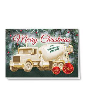Construction Christmas Cards  - Pine Concrete