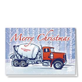 Construction Christmas Cards - Birch Concrete