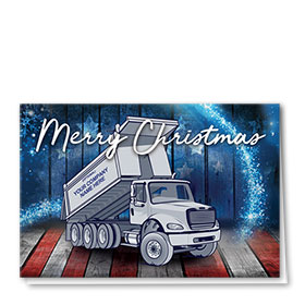 Construction Christmas Cards  - American Roll Off