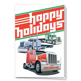 Trucking Christmas Cards - Holiday Triad